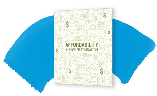 Affordability in Higher Education